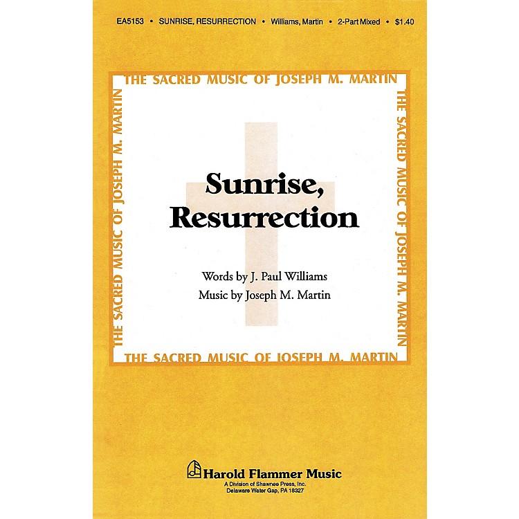 Hal LeonardSunrise Resurrection 2-Part Mixed
