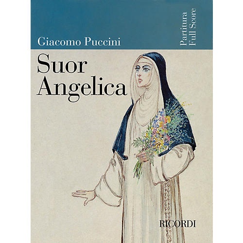 Ricordi Suor Angelica (Full Score) Misc Series  by Giacomo Puccini-thumbnail