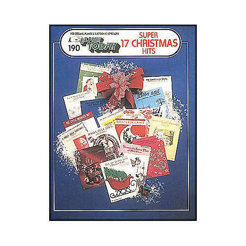Hal Leonard Super 17 Christmas Hits E-Z Play 190