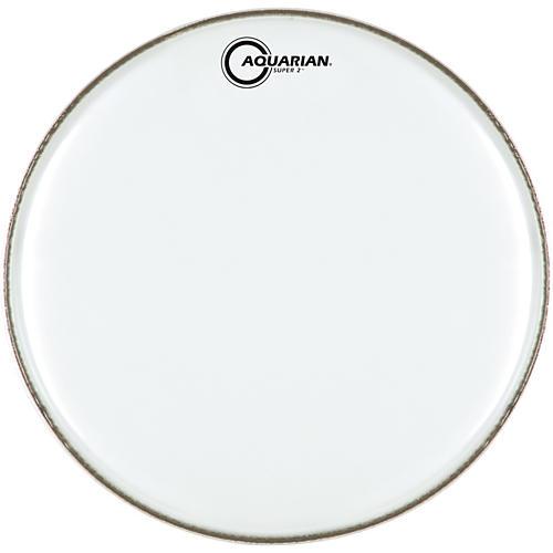 Aquarian Super-2 Clear Drumhead 14 In