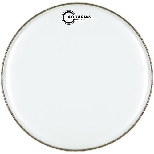 Aquarian Super-2 Clear Drumhead 8 In