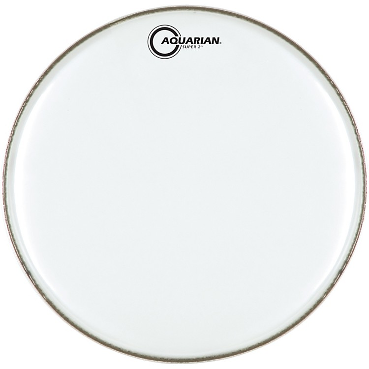 Aquarian Super-2 Clear Drumhead 12 In