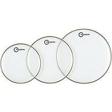 Aquarian Super-2 Clear Drumheads Fusion Pack