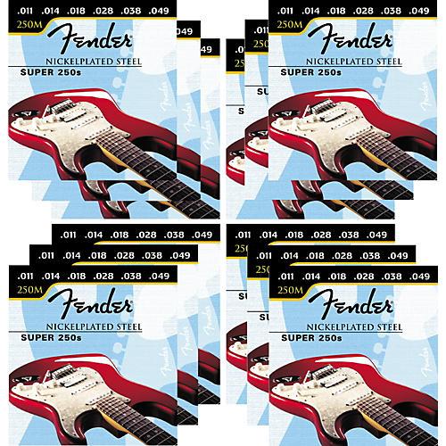 Fender Super 250M 11-49 12-Pack