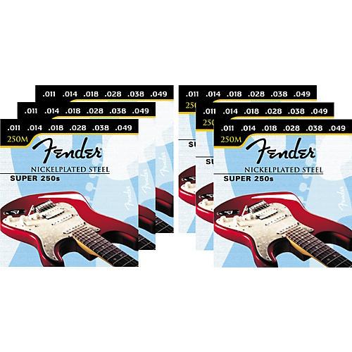 Fender Super 250M 11-49 6-Pack