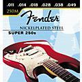 Fender Super 250M Nickel/Steel Medium Ball End Electric Guitar Strings-thumbnail