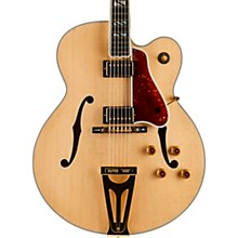 Gibson Custom Super 400 Thinline Hollowbody Electric Guitar Antique Natural