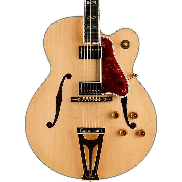 Gibson CustomSuper 400 Thinline Hollowbody Electric GuitarAntique Natural