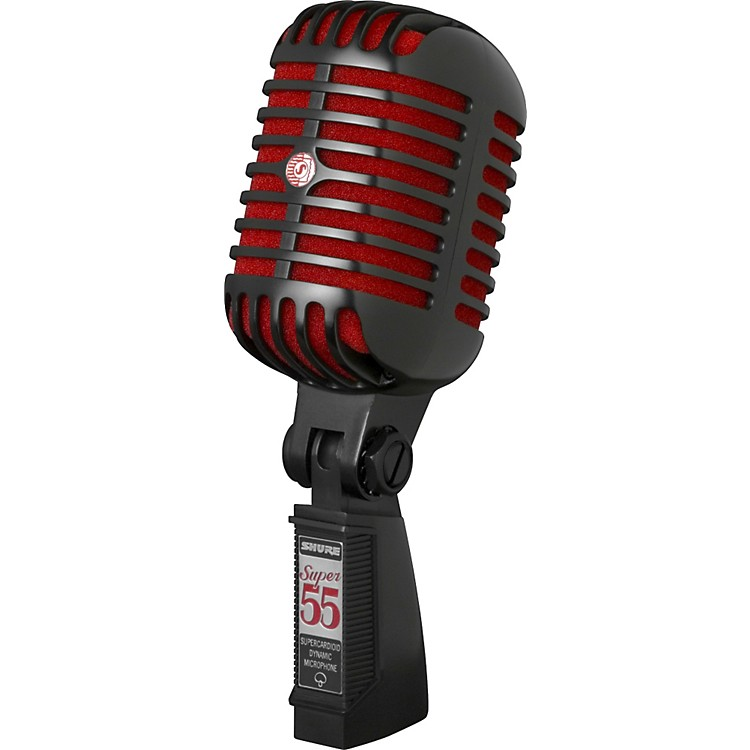 ShureSuper 55 Black Special Edition Deluxe Vocal Microphone