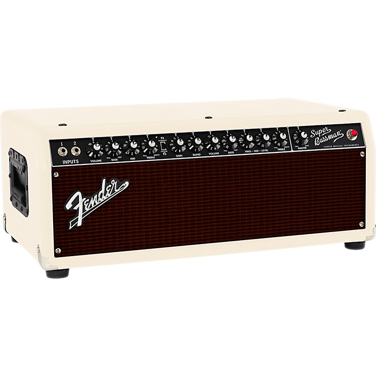 Fender Super Bassman 300W Tube Bass Head Blonde/Oxblood