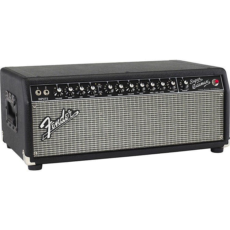 FenderSuper Bassman Pro 300W Tube Bass Amp HeadBlack