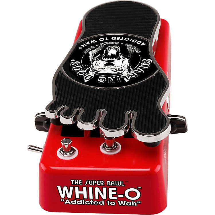 Snarling DogsSuper Bawl Whine-O Wah Pedal