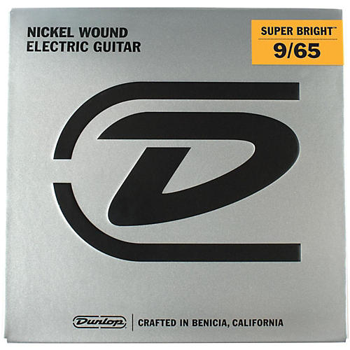 Dunlop Super Bright Light Nickel Wound 8-String Electric Guitar Strings (9-65)-thumbnail