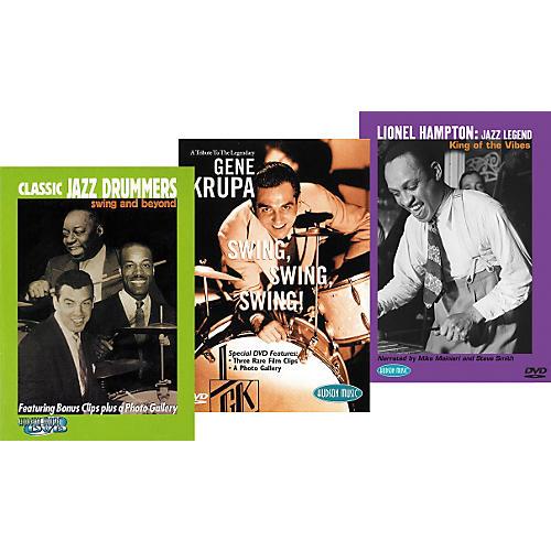Hudson Music Super Classic JazzTrio DVD Pack