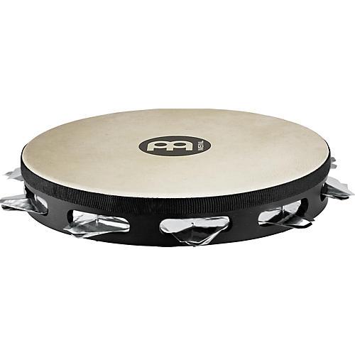 Meinl Super-Dry Studio Goat-Skin Wood Tambourine One Row Stainless Steel Jingles