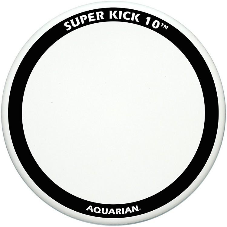 AquarianSuper-Kick 10 Bass Drum HeadWhite Coated18 Inch