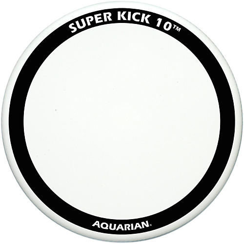 Aquarian Super-Kick 10 Bass Drum Head White Coated 18 in.