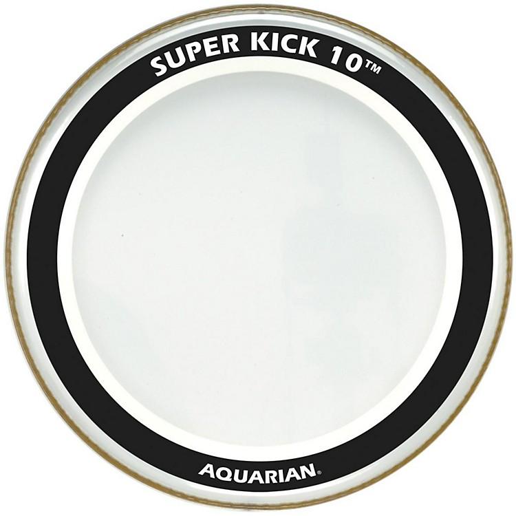 AquarianSuper-Kick 10 Bass DrumheadClear24 Inch