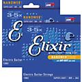 Elixir Super Light Nanoweb Electric Guitar Strings 2-Pack