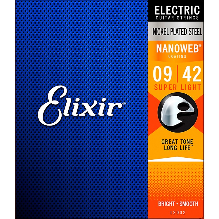 ElixirSuper Light Nanoweb Electric Guitar Strings