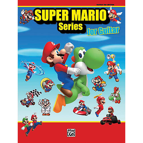 Alfred Super Mario Series for Guitar Book-thumbnail