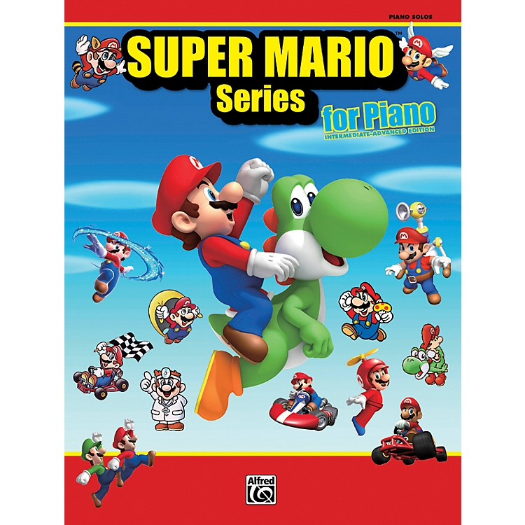 Alfred Super Mario Series for Piano Intermediate / Advanced Book