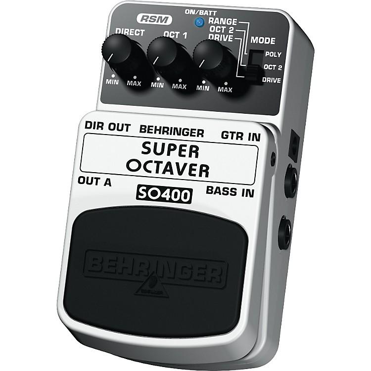 BehringerSuper Octaver SO400 Guitar/Bass Effects Pedal