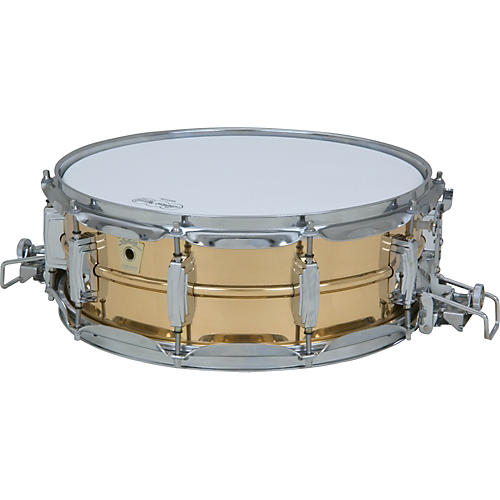 Ludwig Super Sensitive Snare Drum with Classic Lugs Bronze 14 x 5 in.