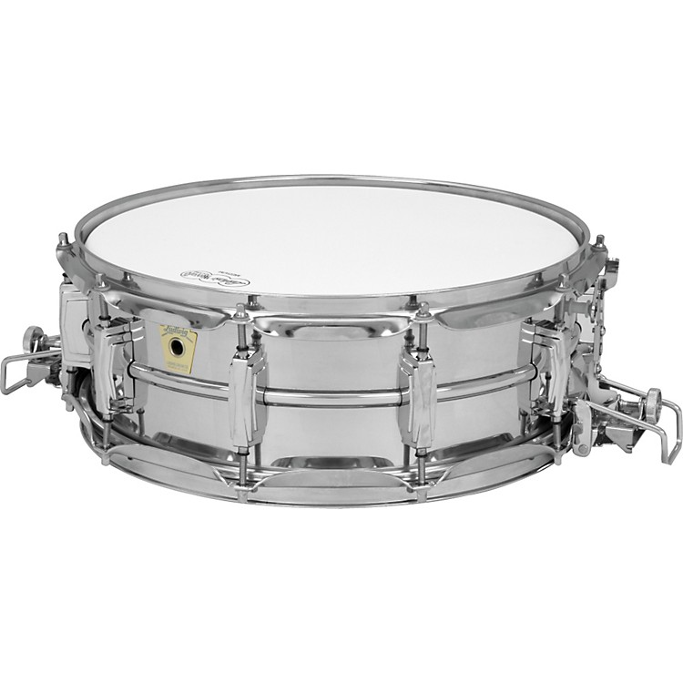 LudwigSuper Sensitive Snare Drum with Classic LugsChrome5X14 Inches