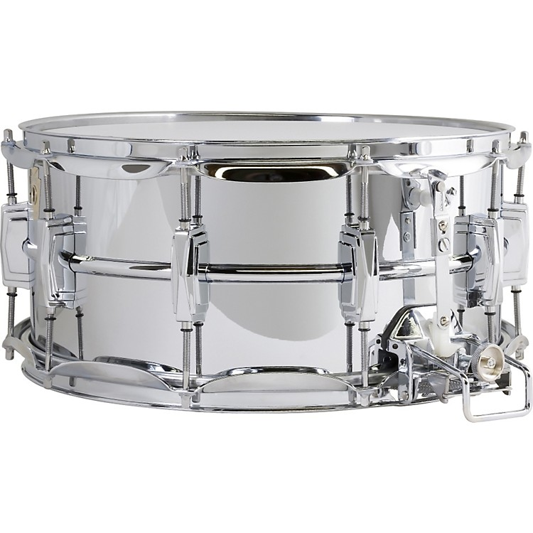 LudwigSuper Sensitive Snare Drum with Classic LugsChrome6.5X14 Inches