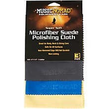 Music Nomad Super Soft Microfiber Suede Polishing Cloth - 3 Pack