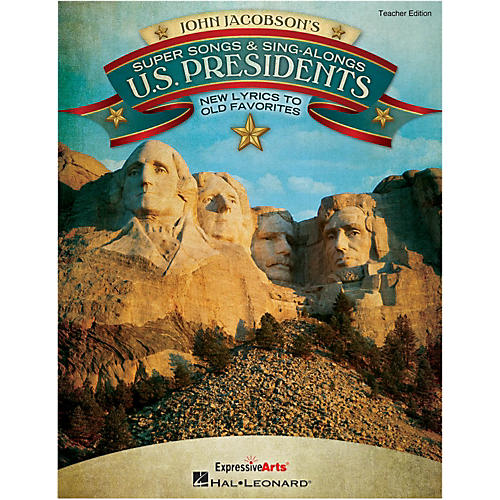 Hal Leonard Super Songs And Sing-Alongs: U.S. Presidents - New Lyrics to Old Favorites Perf/Acc CD-thumbnail