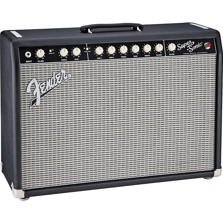 FenderSuper-Sonic 22 22W 1x12 Tube Guitar Combo AmpBlack