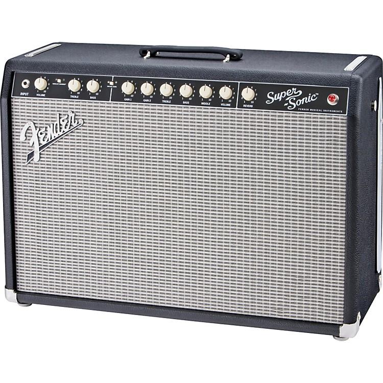 FenderSuper-Sonic 60 60W 1x12 Tube Guitar Combo AmpBlack