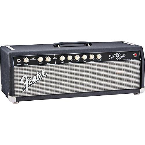 Fender Super-Sonic 60 60W Tube Guitar Amp Head-thumbnail