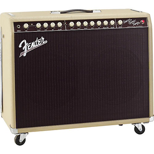 Fender Super-Sonic Twin 100W 2x12 Tube Guitar Combo Amp