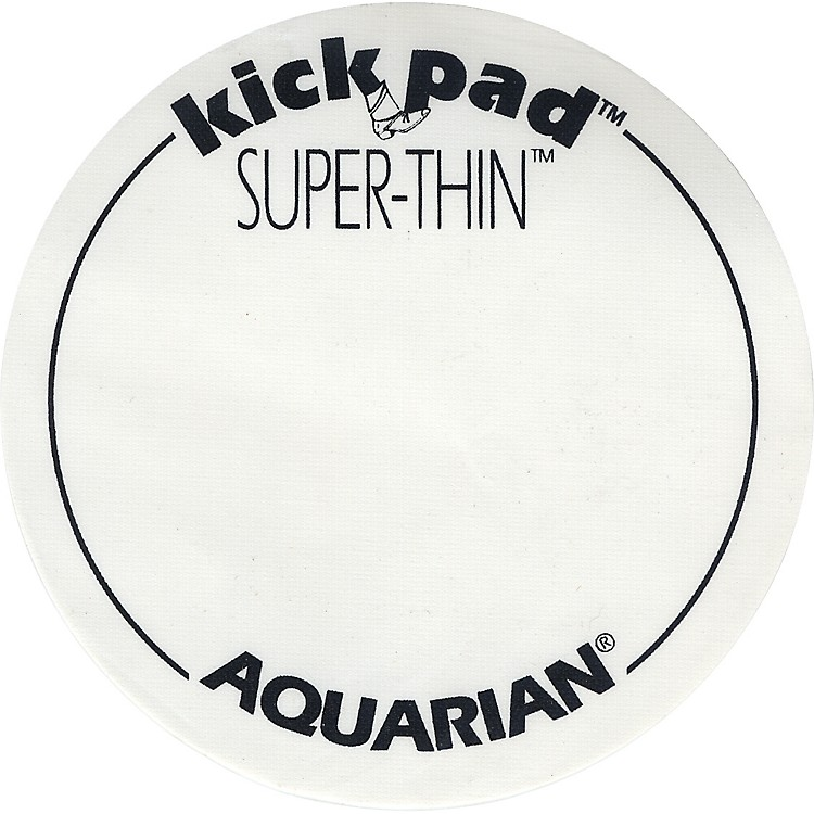 Aquarian Super-Thin Single Bass Drum Kick Pad