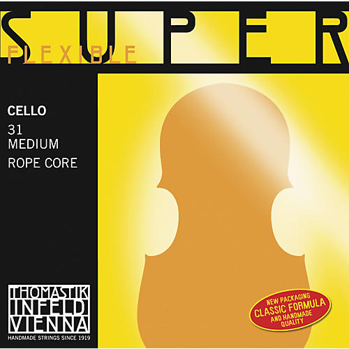 Thomastik Superflexible 4/4 Size Cello Strings 4/4 A String