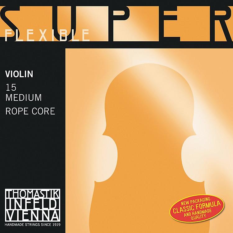 ThomastikSuperflexible 4/4 Size Violin Strings4/4E String