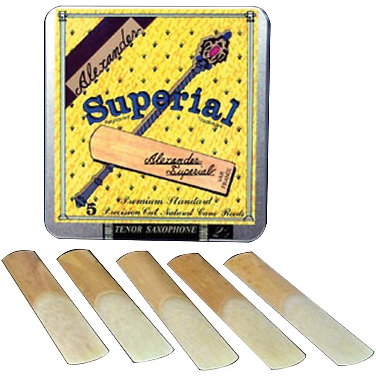 Alexander Reeds Superial Soprano Saxophone Reeds Strength 3.5