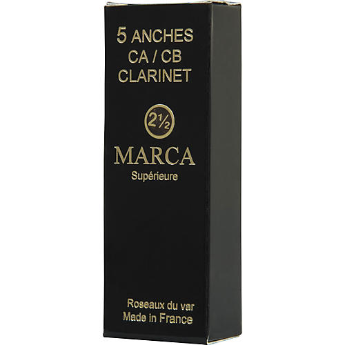 Marca Superieure Bass Saxophone Reeds Strength 2.5