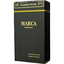Marca Superieure Bb Clarinet Superieur Reeds Strength 3.5 Box of 10