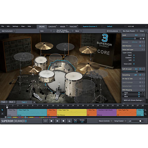 Toontrack Superior Drummer 3.0 UPGRADE from SD2.0 VSSD-thumbnail