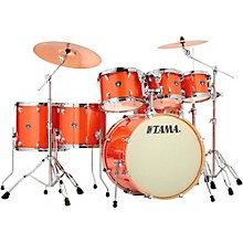 Tama Superstar Classic 7-Piece Shell Pack Bright Orange Sparkle