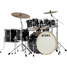 Tama Superstar Classic Custom 7-Piece Shell Pack Transparent Black Burst