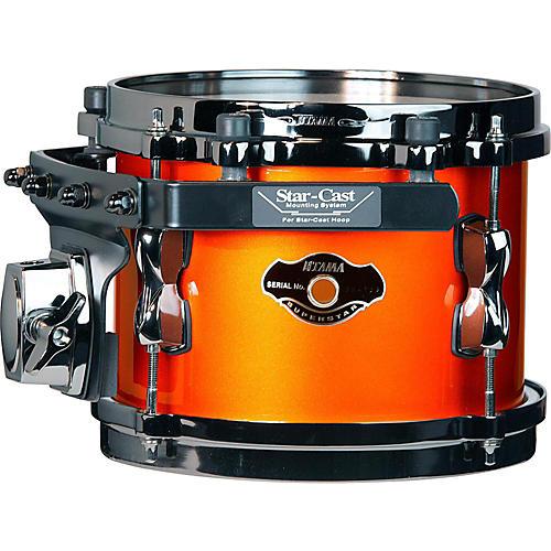 Tama Superstar Hyper-Drive SK Tom Orange Metallic with Black Nickel Hardware 8x6