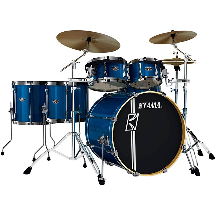 Tama Superstar SK Hyper-Drive 6-Piece Shell Pack Indigo Sparkle