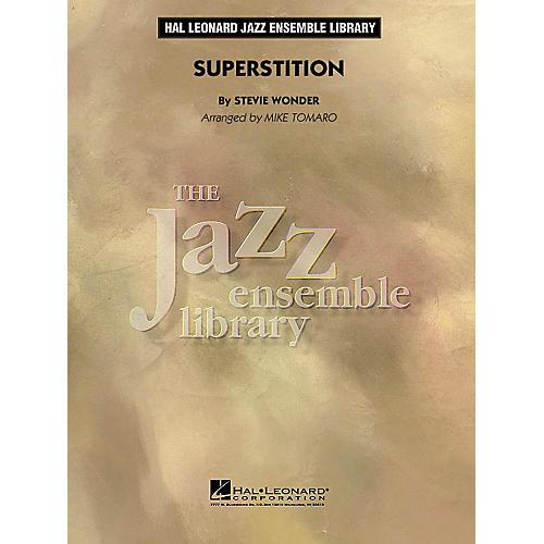 Hal Leonard Superstition Jazz Band Level 4 by Stevie Wonder Arranged by Mike Tomaro