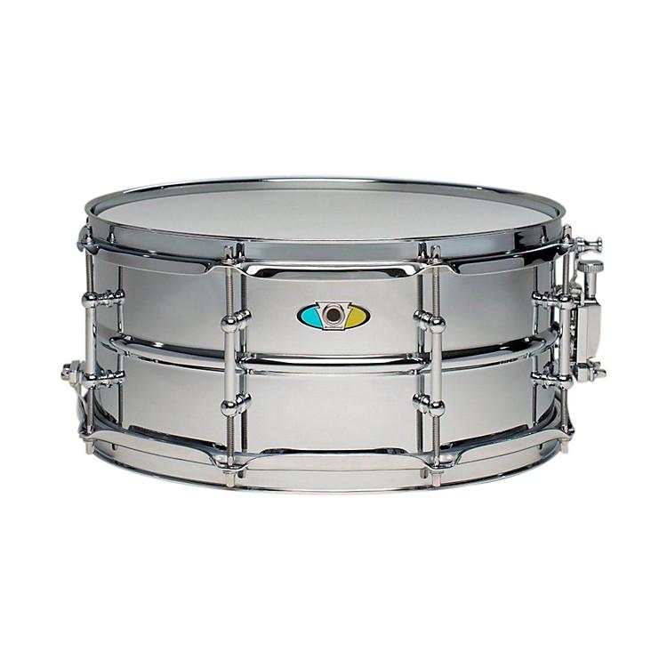 LudwigSupralite Steel Snare Drum13x6 Inch