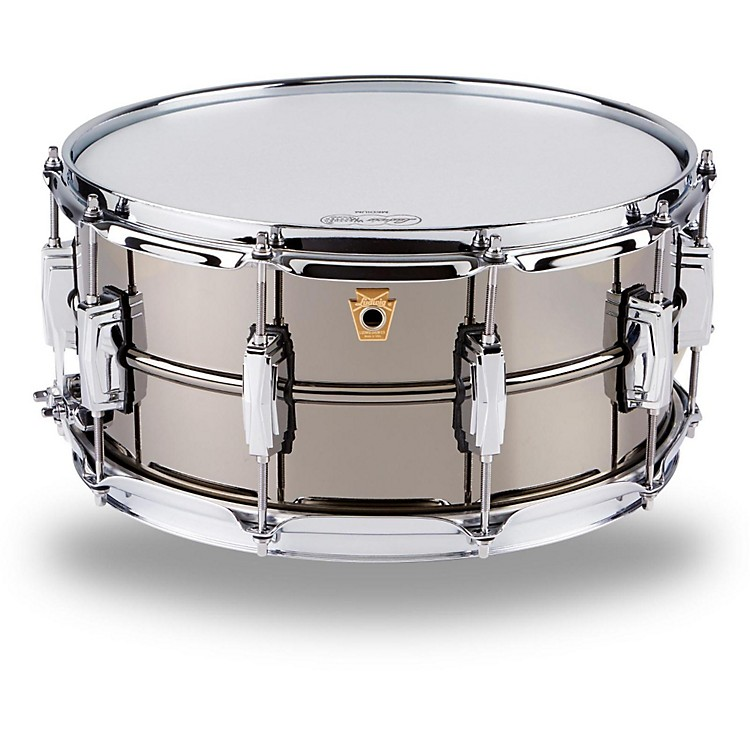 Ludwig Supraphonic Black Beauty Snare Drum  6.5x14